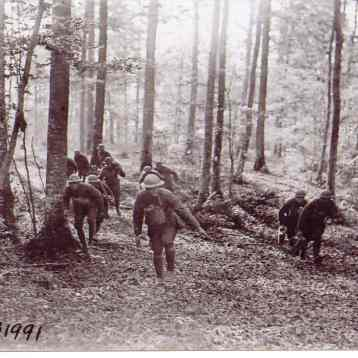 317th Infantry in La Chalade Meuse