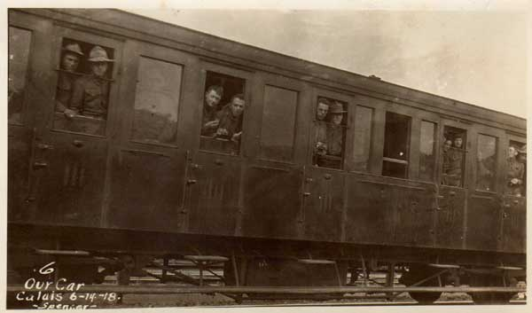 80th Div No1 on train headed to training areas
