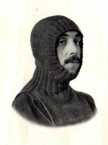 Knitted Hood ww1