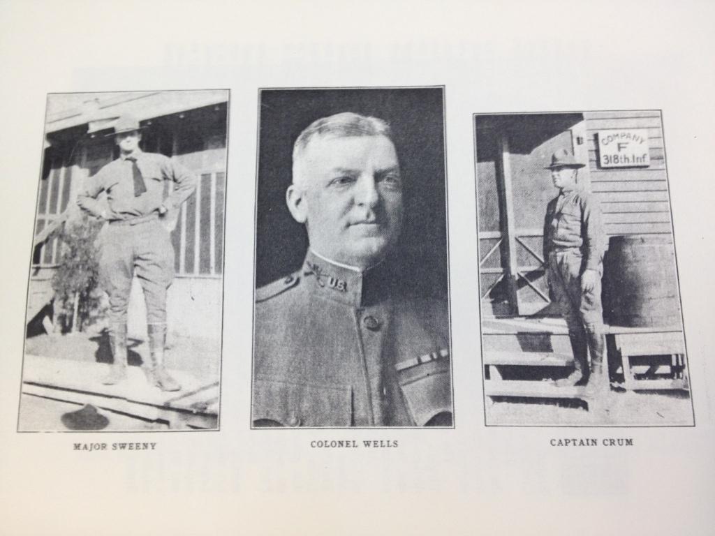 Major Sweeny, Colonel Wells, Captain Crum