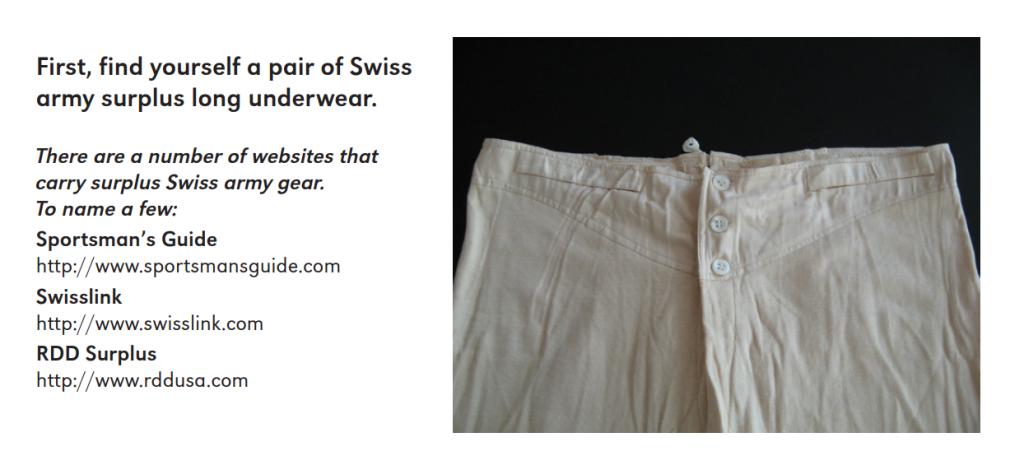 Swiss Army Long Underwear