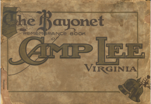 Remembrance Book of Camp Lee Virginia